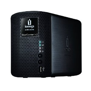 The Iomega StorCenter ix2-200, an affordable backup solution for small businesses.